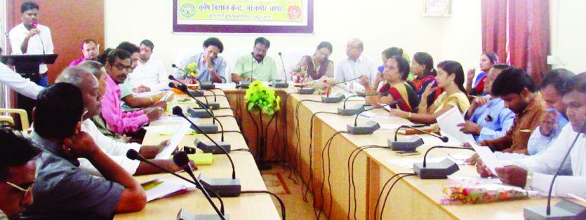 कृषि विज्ञान केन्द्र की वैज्ञानिक सलाहकार समिति की हुई बैठक