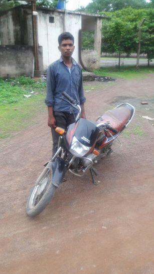 Video- मोटर साइकिल के साथ चोर गिरफ्तार