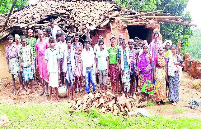 अपने गांव में मुसाफिर बन गए 58 परिवार विभाग कह रहा 130 को मिलेगा पुनर्वास