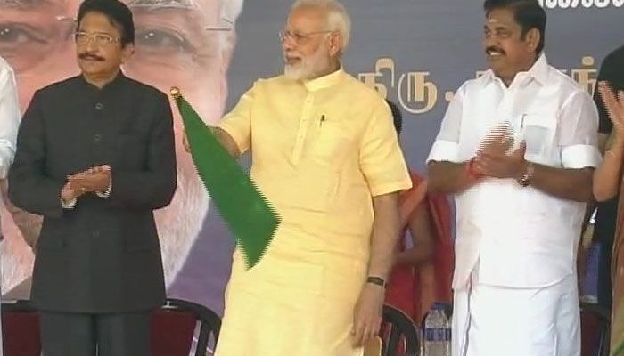 रामेश्वरम से अयोध्या तक चली ट्रेन, पीएम मोदी ने दिखाई हरी झंडी