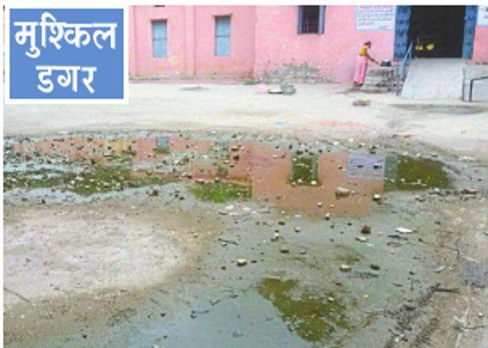 शिक्षा मंदिरों का रास्ता 'गायब'