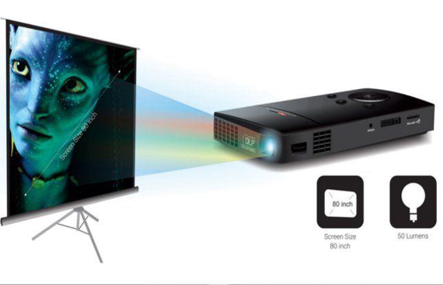 पोट्रेनिक्स ने 9,999 रुपए में एलईडी प्रोजेक्टर लांच किया