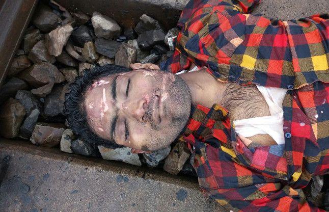 ट्रेन से कटकर एक युवक की व करंट से मजदूर की मौत