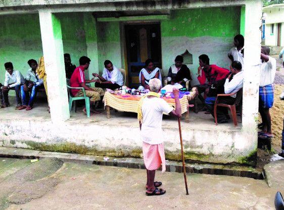 कोडार में फैला डायरिया, शिविर लगाकर किया जा रहा इलाज