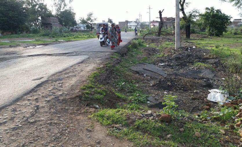 मास्टर प्लॉन के बाद राजगढ़ रोड का भी होगा सीसीकरण