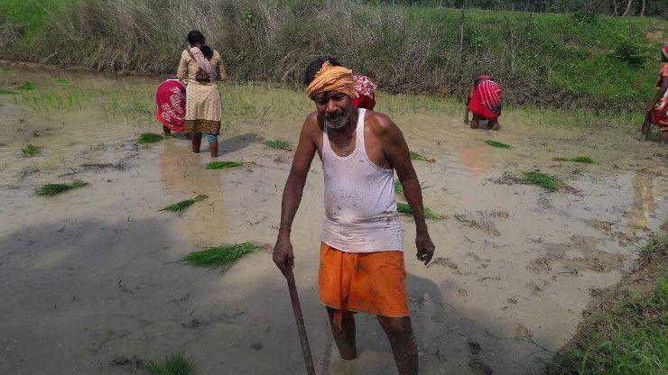 Video- माथे पर पगड़ी, कमर में भगवा गमछा, ये हैं भाजपा के दिग्गज आदिवासी नेता