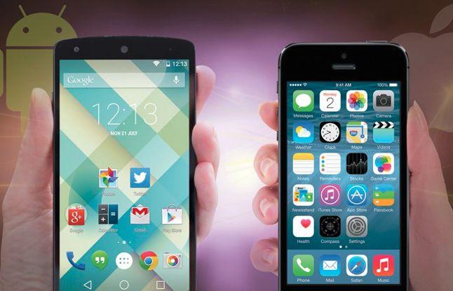 जानिए क्या अंतर होता है एंड्रॉयड और एपल आईओएस के फीचर्स में