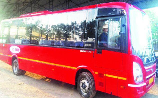 एसी सिटी बसों का मिला परमिट, कल से सड़क पर उतारने की तैयारी में सोसायटी