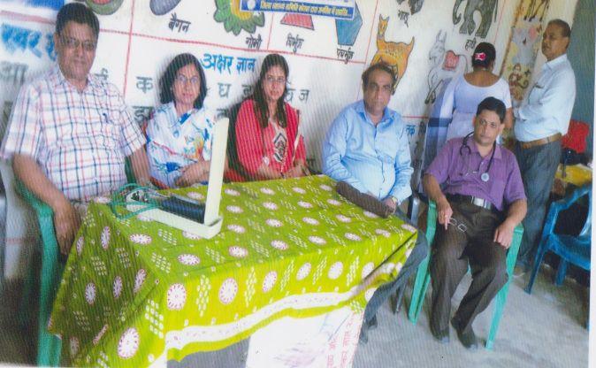 एचटीपीएस ने डिंडोलभाठा एवं पंडरीपानी में लगाया मेडिकल कैंप