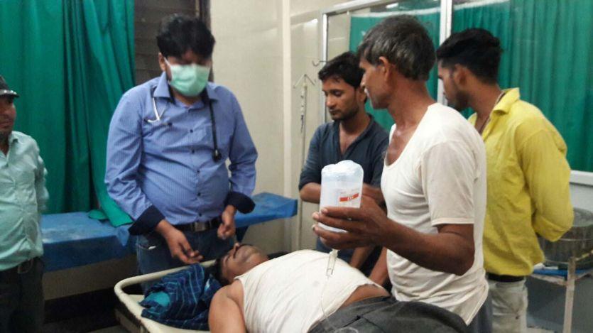 10 लाख रुपए के कर्ज में डूबे किसान ने फंदा लगाकर किया आत्महत्या का प्रयास