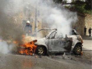 सोमालिया में कार बम विस्फोट में दस लोग घायल