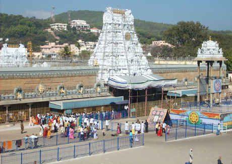 तिरुमाला मंदिर के लिए इमेज परिणाम