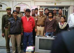 भारत-पाक मैच पर जयपुर मे सट्टे का भंडाफोड़, 2 गिरफ्तार
