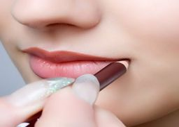 how to make big lips smaller