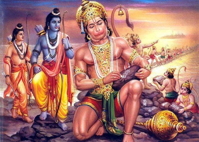 Hanuman Also Wrote Ramayn But It Sink In Ocean - हनुमान जी ...