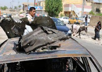 इराक में कार बम धमाके में 115 मरे, IS ने ली जिम्मेदारी