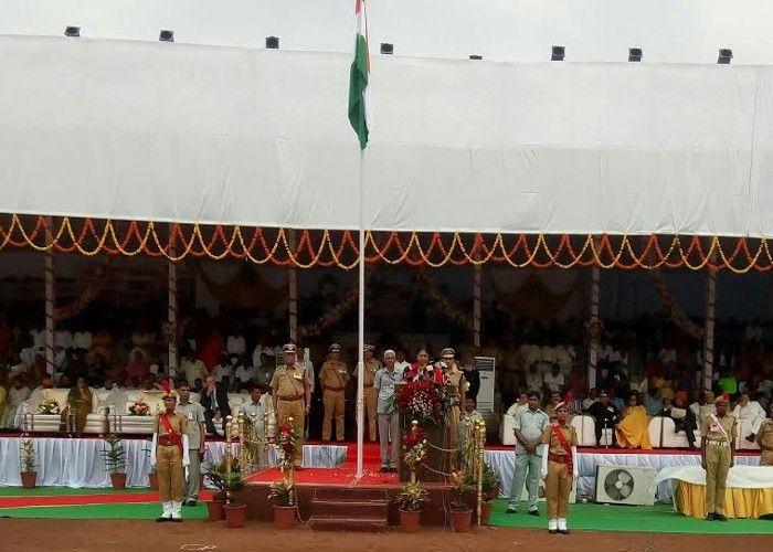 राजस्थान में स्वतंत्रता दिवस मनाया गया