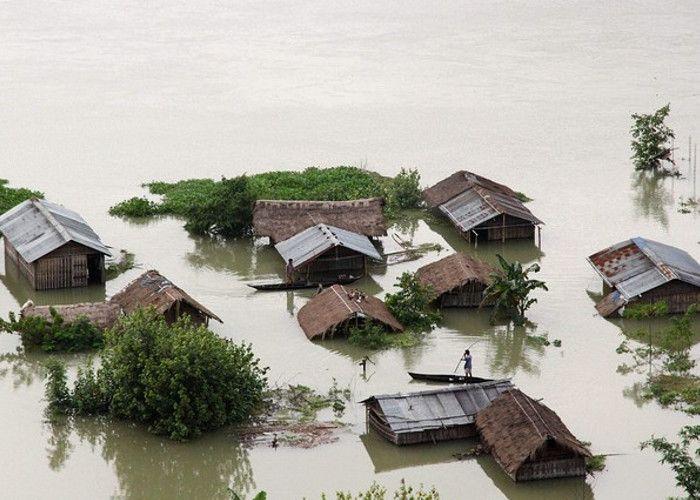 Assam Flood Situation Grim, 35 People Died - असम में बाढ ...