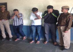 हरमाडा पुलिस की बड़ी कार्रवाई,50लाखकी कोकीन के साथ 3 युवकगिरफ्तार