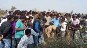 भीलवाड़ा: बस व बाइक भिड़ंत में दो जनों की दर्दनाक मौत