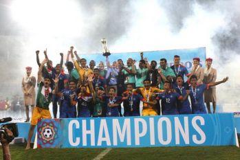 सैफ कपः 7वीं बार चैंपियन बना भारत