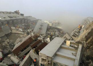 ताईवान: भूकंप में 10 दिन की बच्ची समेत 5 लोगों की मौत, राहत कार्य जारी