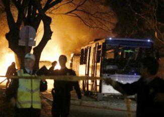 तुर्की में बम विस्फोट से 28 लोगों की मौत, 61 घायल