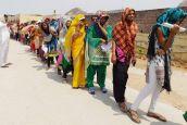 बीएसटीसी परीक्षा : गर्मी ने सताया, आईडी ने रुलाया