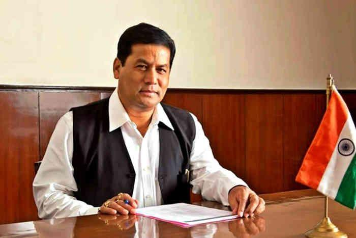 Sarbananda Sonowal Takes Charge Of First BJP Government In Assam - ये हैं  असम के नए CM: अभी तक हैं कुंवारे, घर में नहीं है एक भी AC | Patrika News