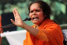 साध्वी प्राची के फिर बिगड़े बोल, कहा-मुस्लिम मुक्त भारत बनना चाहिए