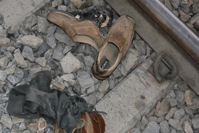 ट्रेन की चपेट में आने से युवक की मौत
