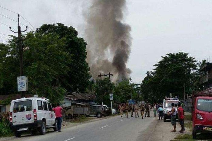 इधर गृह मंत्री ने राज्य सभा में दिया बयान... उधर असम में आतंकियों ने मचाया कोहराम, फायरिंग में 13 मरे