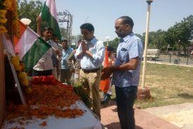 बीकाणे के वीर सपूत शहीद चंद्र चौधरी की शहादत को किया नमन