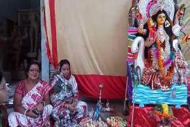 विश्वकर्मा जयंती पर बंगाली समाज ने की मंशादेवी की पूजा-अर्चना, औजार-उपकरण भी पूजे