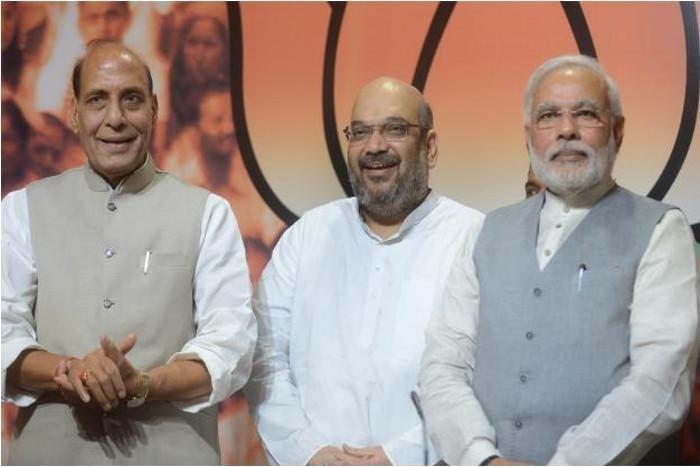 Image result for अमित शाह गृहमंत्री राजनाथ सिंह