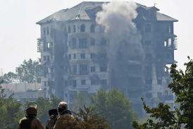 जम्मू-कश्मीर: पंपोर में 57 घंटे तक चला एनकाउंटर खत्म, ईडीआई इमारत में छिपे दो आतंकी ढेर