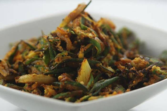 भिंडी थोरन (सब्जी)