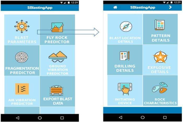 खानों में होने वाले विस्फोट के दुष्प्रभाव से बचाएगा एप