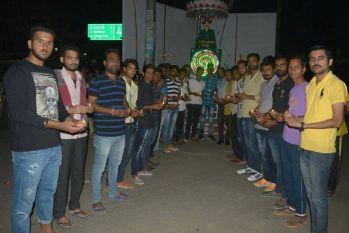 दीपावली की पूर्व संध्या पर सुमेरपुर में एक दीपक शहीदों के नाम कार्यक्रम आयोजित