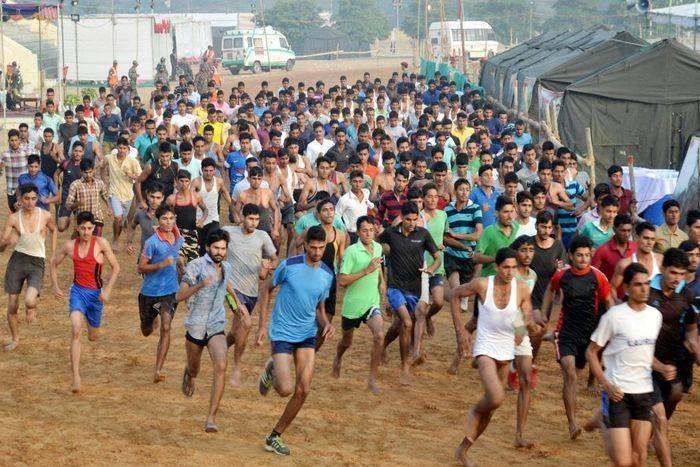 sena bharti rally in sikar