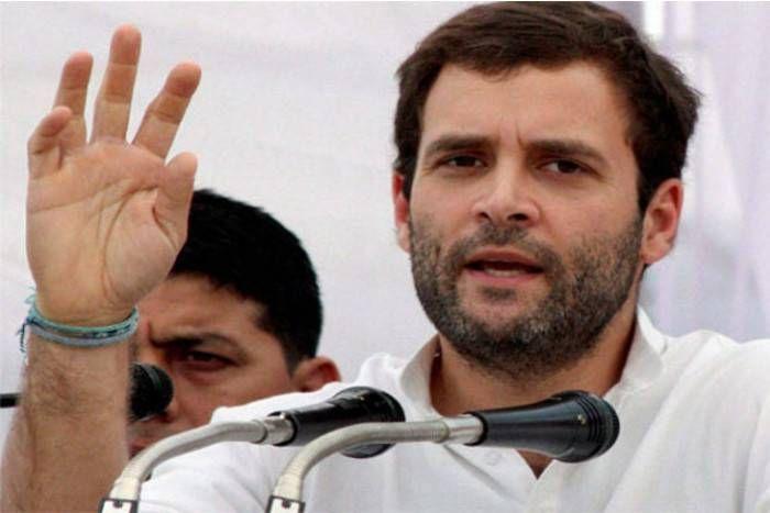 जौनपुर रैली में नोटबंदी पर राहुल गांधी की दो टूक - कहा, मोदी ने जनता के रगों से निकाल लिए खून