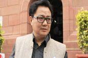 धर्म परिवर्तन नहीं कराते हिंदू इसलिए देश में घट रही आबादीः केंद्रीय मंत्री किरन रिजिजू