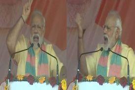 बोले PM मोदी, 'मैं स्वच्छता अभियान चला रहा हूं, यूपी की जनता यहां की राजनीति से गंदगी हटा रही है'