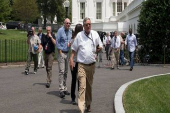 व्हाइट हाउस के बाहर खड़ी कार में बम की सूचना से मचा हड़कंप, एक शख्स को लिया गया हिरासत में