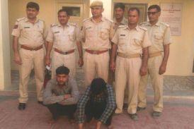 पुलिस ने पकडे दो हार्डकोर अपराधी, बरामद किए रिवाल्वर, देशी कट्टा और कारतूस