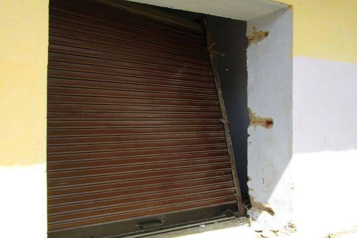 कागजात चुराने के लिए चोरों ने की मिनी बैंक में वारदात