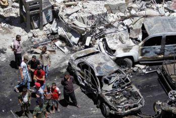 सीरिया: दहशतगर्दों ने अब आत्मघाती कार बम विस्फोट को दिया अंजाम, धमाके के साथ हुई 100 की मौत