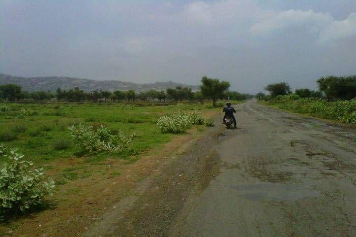 जोधपुर के इलाकों में तेज हवा के संग बारिश