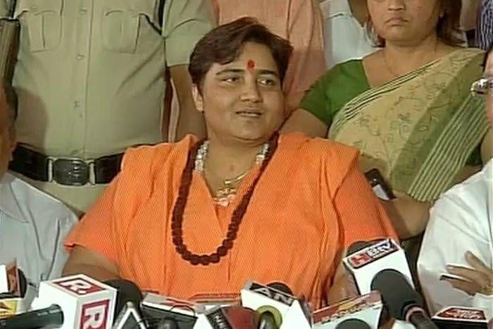 प्रज्ञा सिंह ठाकुर ने कहा, भगवा आतंकवाद झूठी कहनी- फंसाने के लिए कांग्रेस ने रची साजिश