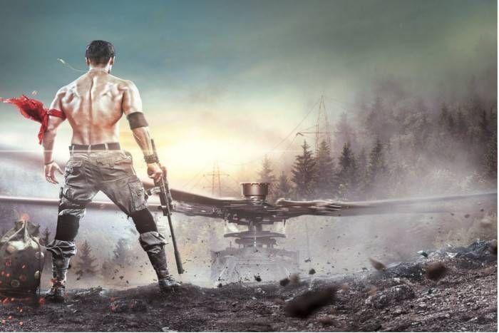 टाइगर श्रॉफ के एक्शन लुक के साथ 'बागी-2' का फर्स्ट पोस्टर रिलीज